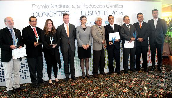 Reconocen a seis investigadores peruanos por su destacada labor científica