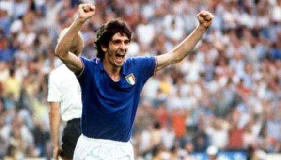 Paolo Rossi nació el 23 de septiembre de 1956 en Santa Lucía. El italiano militó en clubes como Vicenza, Pregudia, Juventus, Milan y Hellas Verona.