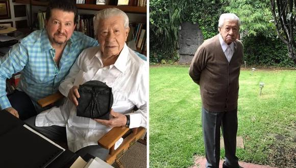 Ignacio López Tarso sigue las condiciones que le dan los médicos pero no puede dejar su pasión de lado. (Foto: Facebook Ignacio López Tarso).