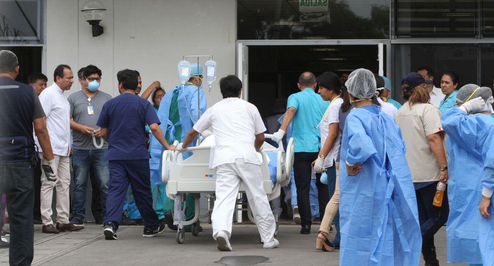 Se eleva a 16 el número de fallecidos por incendio en Villa El Salvador  (GEC)