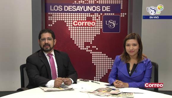 """Los Desayunos de Correo y Usil: Carmen Omonte acusa de """"irresponsable"""" a la Contraloría (27 de mayo)"""