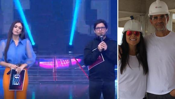 Jazmín Pinedo y Gian Piero Díaz expresaron sus condolencias a Tula Rodríguez en el programa. (Foto: América TV / Instagram)