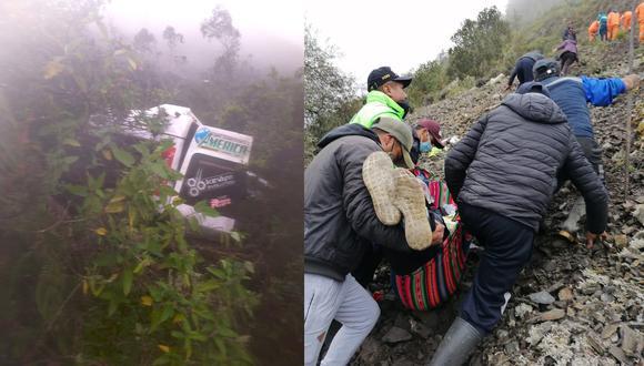 """Esta desgracia ocurrió la tarde del lunes en el sector denominado """"Chihui Chihui"""". (Foto: Difusión)"""