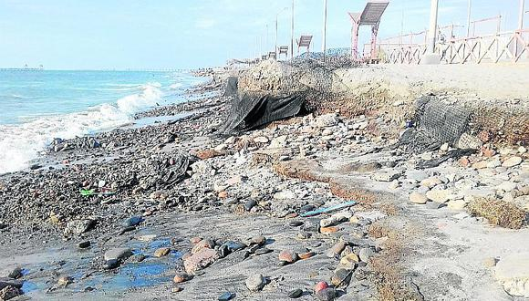 Las Playas de Pisco, San Andrés y Paracas no son saludables