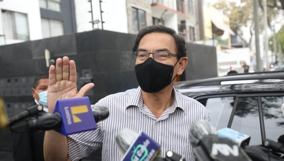 """Exmandatario aseguró que evalúa encabezar una lista parlamentaria y que se inspiró en """"los millones de peruanos que salieron a las calles"""". (Foto: Britanie Arroyo / GEC)"""