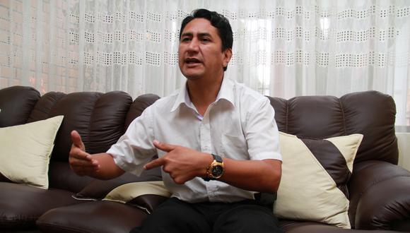 Vladimir Cerrón no ejercerá cargo público. (Foto: archivo GEC)