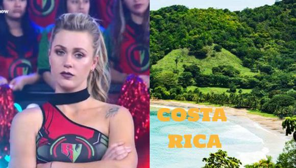 """Ducelia Echevarría confunde Costa Rica con una playa: """"Es de afuera, no es peruana"""""""