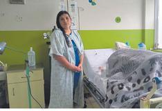 Chimbote: Piden apoyo para tratamiento de bebé que sufrió quemaduras