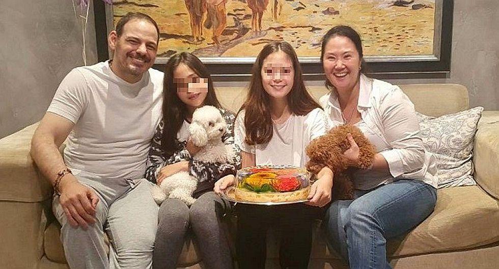 Keiko Fujimori celebra en libertad cumpleaños de su hija