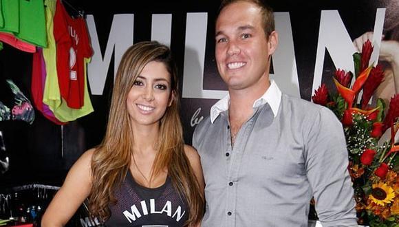 """Claudia Ramírez niega infidelidad a George Forsyth y le dice """"acosador"""" a Greg Michel"""