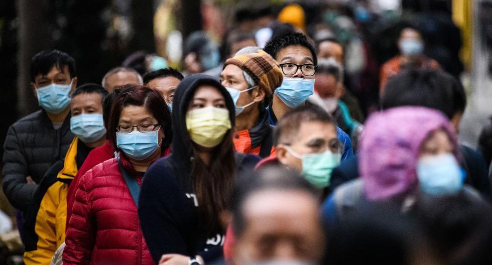 Las autoridades informaron sobre 14.840 nuevos casos confirmados de contaminación, cifra que lleva al total hasta el momento a casi 60.000 personas. (AFP).