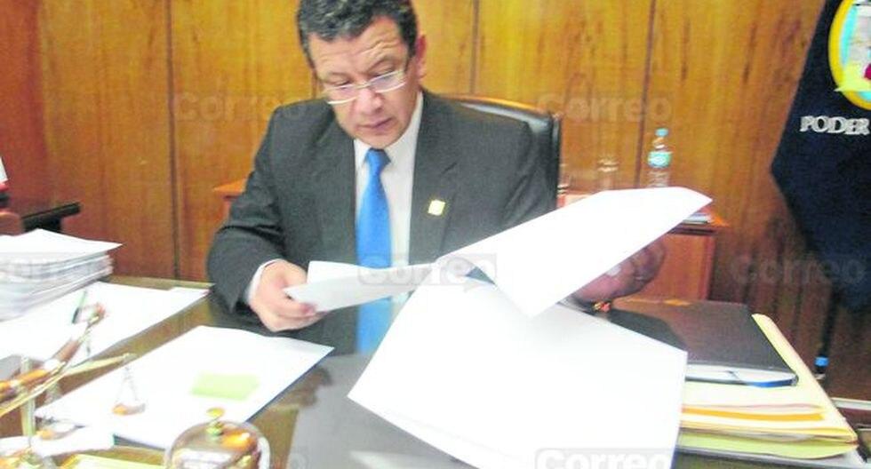 Arequipa: Personas procesadas desempeñan funciones