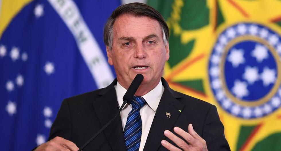 """Bolsonaro, que sigue minimizando la gravedad del virus pese a que él mismo se contagió, ya había provocado una controversia al afirmar en varias ocasiones que la vacunación no será """"obligatoria"""". (AFP / EVARISTO SA)."""