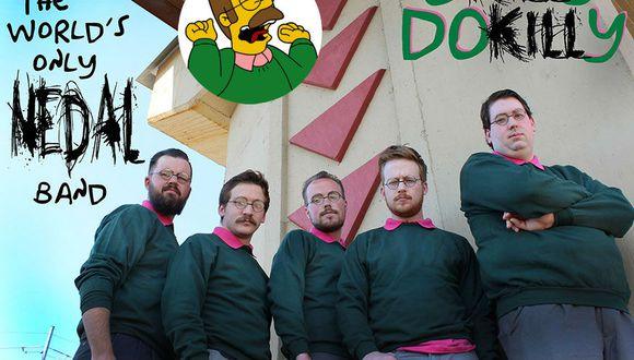 Los Simpsons: Conoce la banda de heavy metal inspirada en Ned Flanders