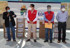 Moquegua recibió 50 ventiladores y kits de medicamentos