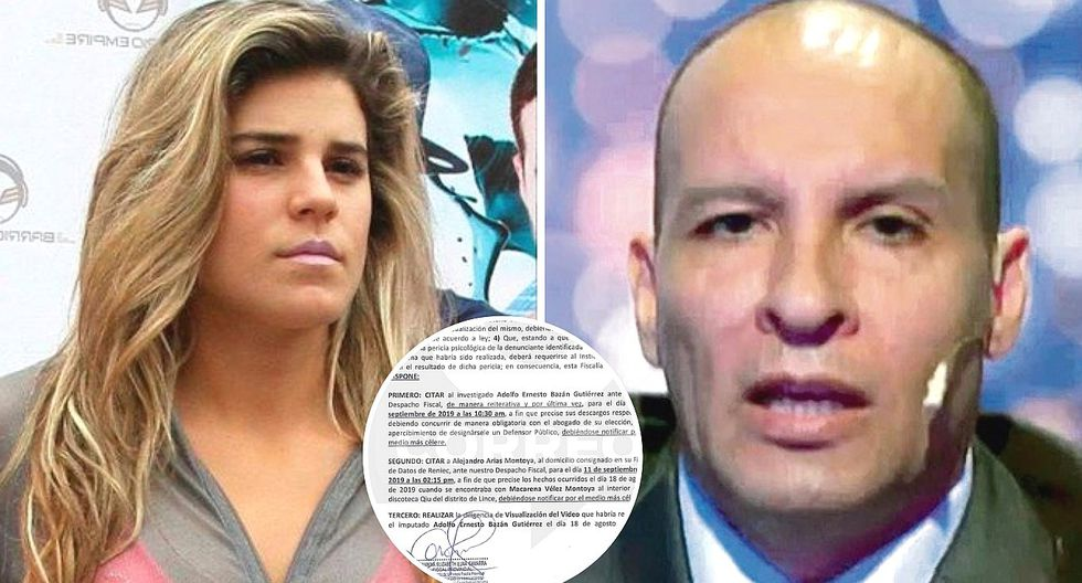 Macarena Vélez: Adolfo Bazán es citado 'de grado o fuerza' para el 11 de septiembre (FOTOS)