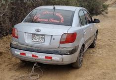 Sicario asesina de un balazo a taxista y abandonan su vehículo en Chincha