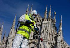 Italia: más de 13.000 fallecidos y 110.000 casos de coronavirus