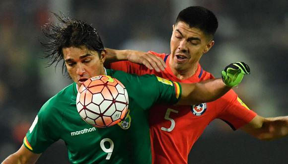 Chile vs. Bolivia: se ven las caras en Santiago por la jornada 8 de las Eliminatorias rumbo a Qatar 2022. (Foto: AFP)