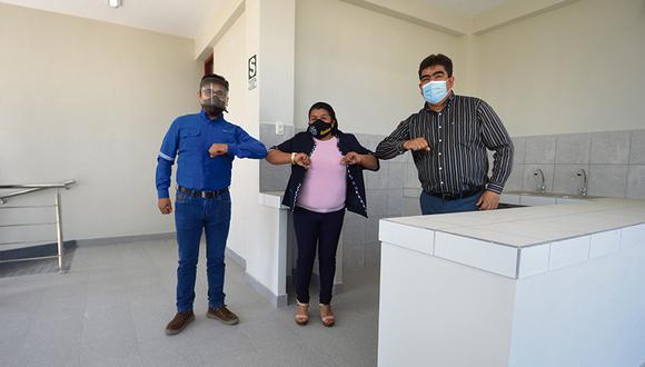 El protocolo contra la pandemia incluye el uso obligatorio de mascarillas de acuerdo al nivel de riesgo del puesto de trabajo.