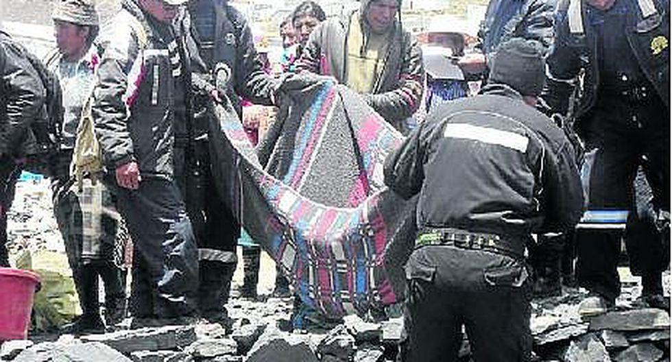 La Rinconada: minero muere en socavón por respirar gases tóxicos