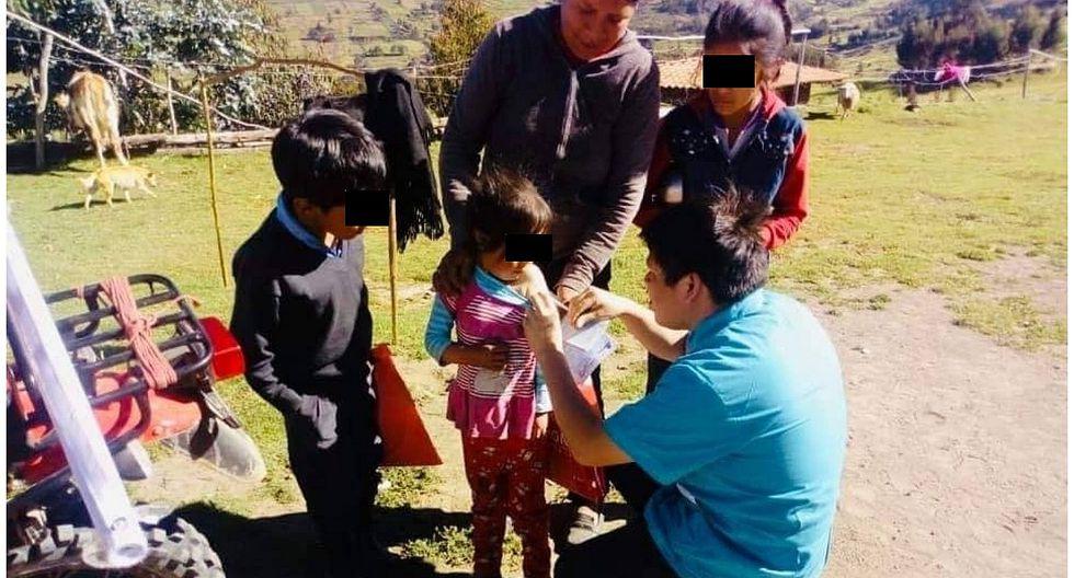 Más de 170 mil niños vienen siendo vacunados contra el sarampión