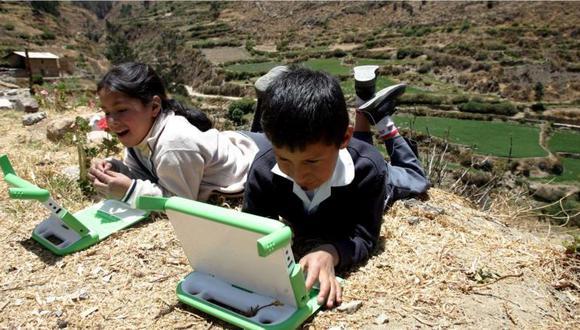 En las zonas rurales solo un 40% cuenta con el servicio de Internet. (Foto: Rednace)