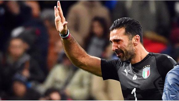 Gianluigi Buffon entre lágrimas anuncia su retiro de la selección italiana (VIDEO)