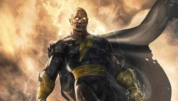 Finalmente la historia de Black Adam será llevada a la pantalla grande por DC Comics y Warner Bros. (Foto: Dailymail)
