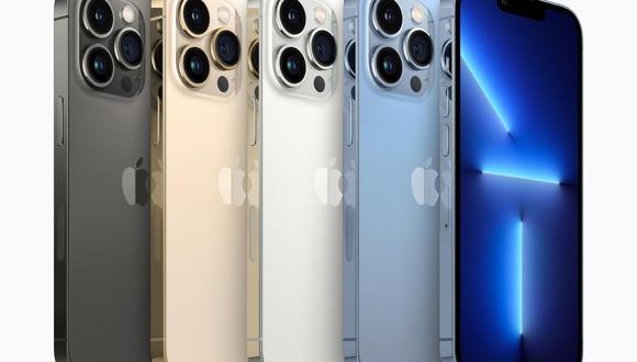 La versión estándar del iPhone 13 tiene una cámara con lente de 12 megapíxels y apertura de 1,6, y otra lente ultra gran angular también de 12 megapíxels y con apertura de 2,4. (FOTO: EFE)