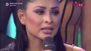 """Pamela Franco se quiebra tras dimes y diretes: """"Todo lo que hago es por mi hija"""" (VIDEO)"""