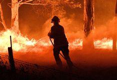 Un bombero muere luchando contra los incendios en Australia