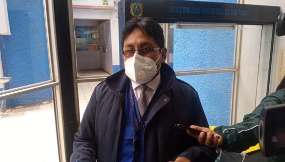 Representante de la Defensoría del Pueblo en Juliaca.