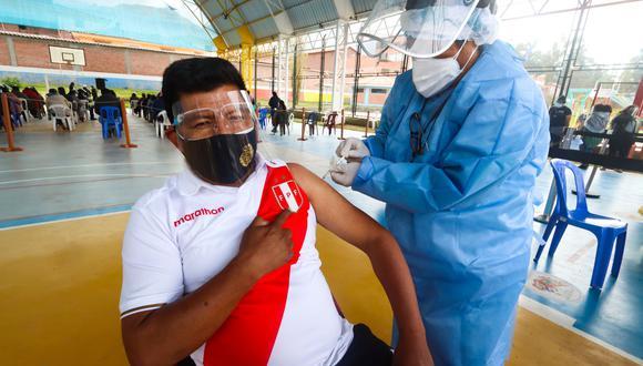 Este jueves 14 de octubre comenzó la vacunación contra el COVID-19 a los cusqueños de 26 años en adelante. (Foto: Geresa Cusco)