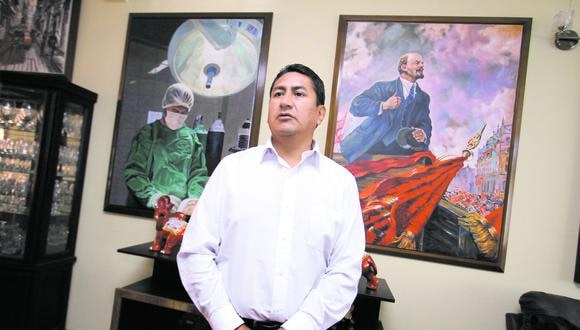 Vladimir Cerrón es investigado por diferentes delitos, entre los que se encuentra el lavado de activos.