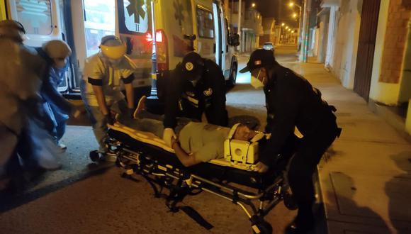 Herido participaba en una fiesta de cumpleaños durante el toque de queda en distrito Gregorio Albarracín