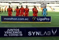 Aucas perdió por 3-0 ante Barcelona SC luego que solo tengan siete jugadores disponibles y uno se lesione