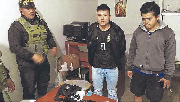 """""""Los malditos de San Lorenzo"""" asaltaban con arma de agente policial"""