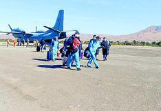 Llega personal médico y seis toneladas de insumos para Moquegua