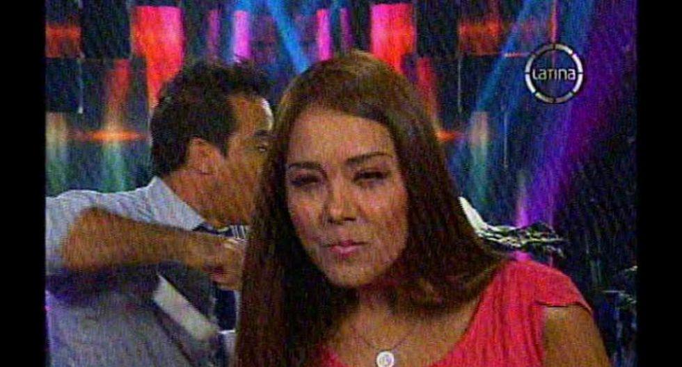 Katia Palma llama 'gorda' a Karen Schawrz