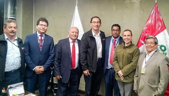 Rodríguez busca a Vizcarra para pedirle S/ 30 millones para culminar vía