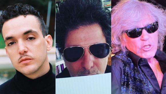 Andrés Calamaro, José Feliciano y Gipsy Kings, en el próximo disco de C. Tangana. (Foto: Instagram)