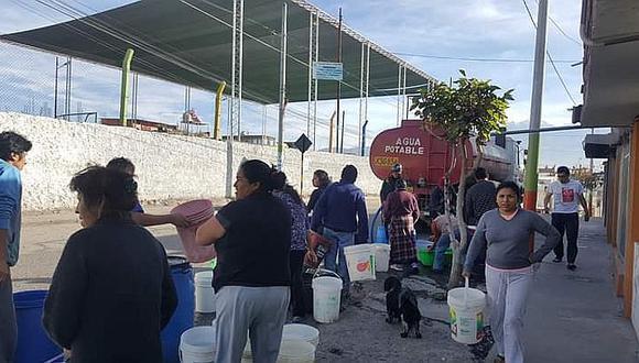 Restablecimiento de agua en Hunter y Bustamante será el jueves