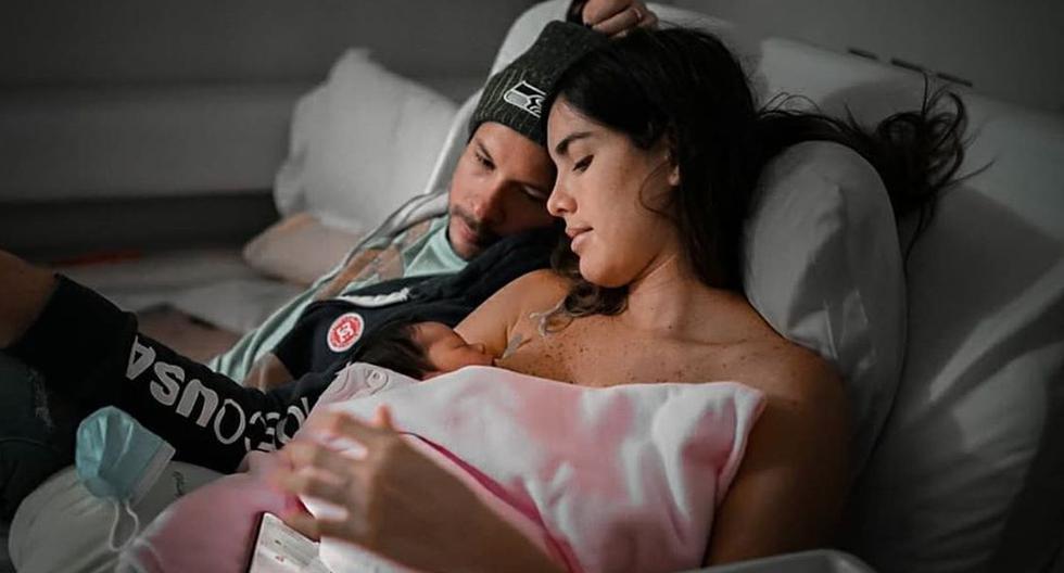"""Korina Rivadeneira tras crisis que sufrió su bebé: """"No dejé que nadie entré al cuarto, ella me necesitaba"""""""