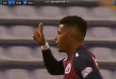 Erinson Ramírez anota un golazo de volea y pone el 1-0 en el Sporting Cristal vs. Municipal (VIDEO)