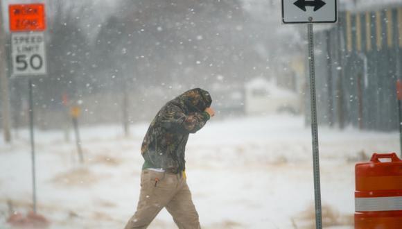 Estados Unidos   Severa tormenta provocaría granizos y fuertes vientos en el centro de Texas. (John Weast/Getty Images/AFP)