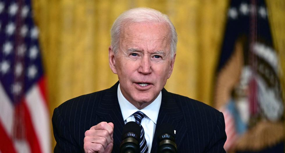 Imagen del presidente estadounidense Joe Biden. (JIM WATSON / AFP).
