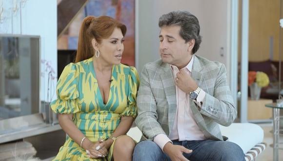 """""""La vida real me ha enseñado a mí que no es una telenovela, yo no vivo dentro de una película, vivo en el mundo real"""", señaló la conductora Magaly Medina"""