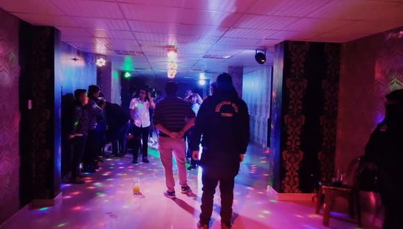 La discoteca funcionaba en la primera cuadra del jirón Moquegua de la Ciudad Lacustre. (Foto: Difusión)