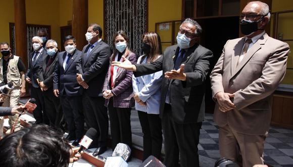 Sostiene el congresista de Acción Popular y que fue elegido como coordinador del Grupo Parlamentario de La Libertad.